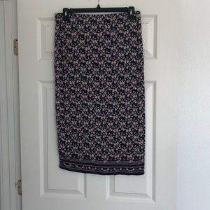 Ladies max studio pencil skirt size large